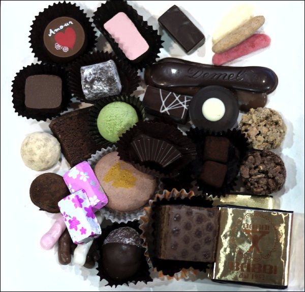 玉川テラス チョコレートパーティー2014 全24メーカーのチョコレート画像