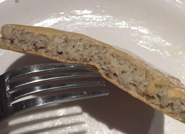 九州パンケーキ 断面図