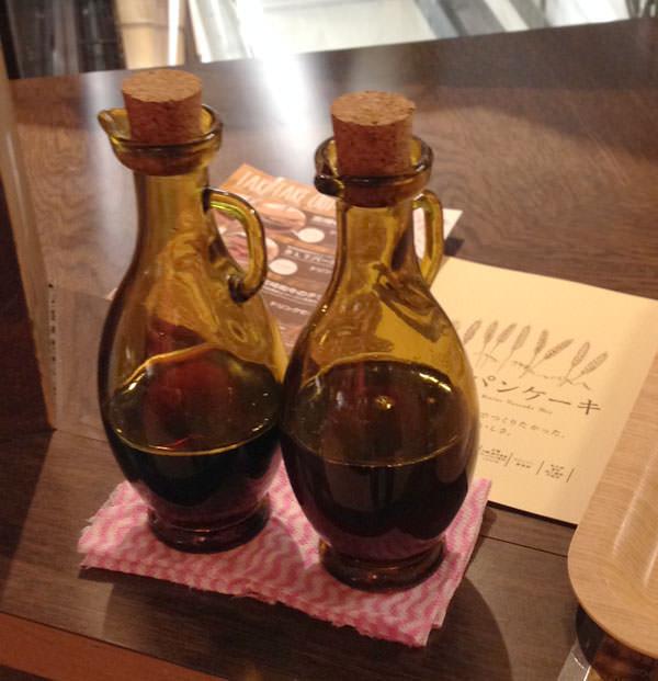 九州パンケーキのメープルシロップ