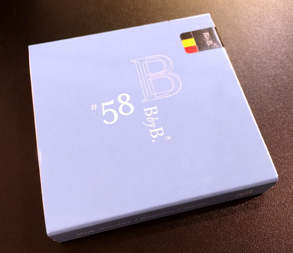 BbyB チョコレート 銀座 ダークチョコレート バベリュット シーソルト パッケージ