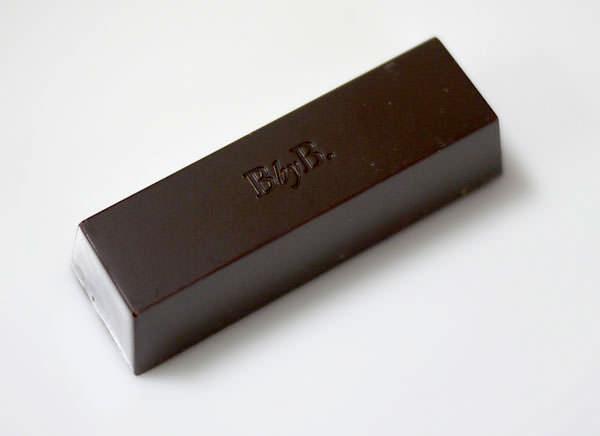 BbyB ダークチョコレート バベリュット シーソルト 中身